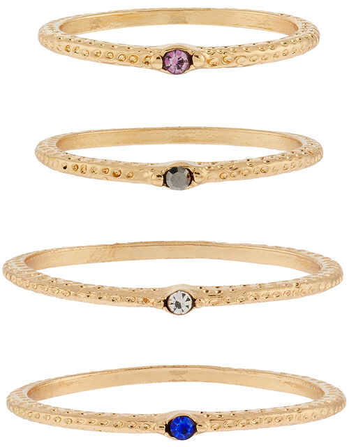 Gemstone Bracelet Multipack, Gold (GOLD), large