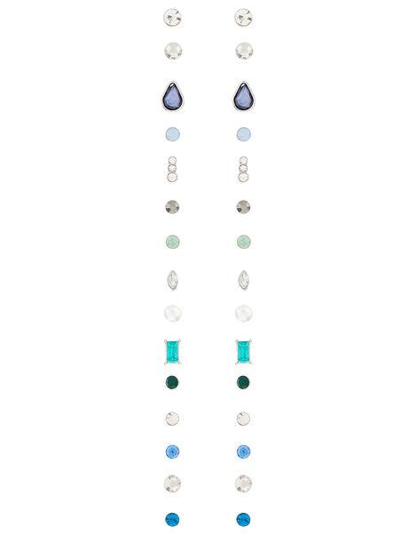 Esmeralda Sparkle Stone Stud Earring Multipack, , large