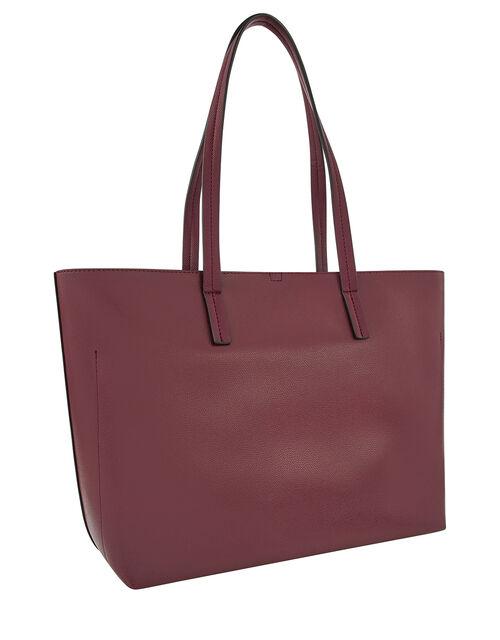 Ali Tote Bag, Red (BURGUNDY), large