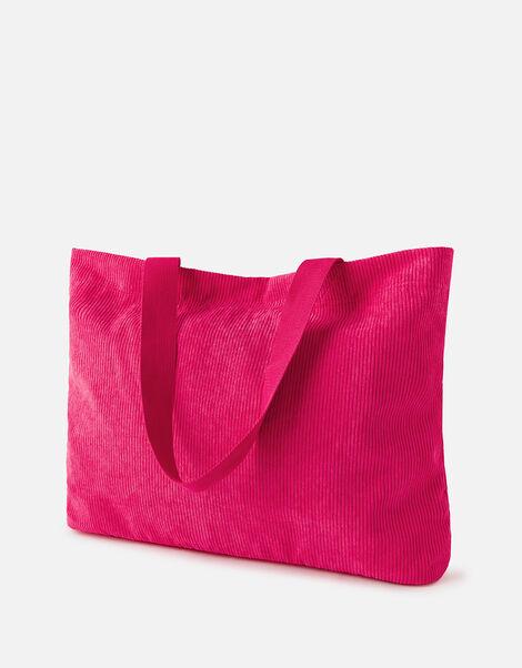 Cord Shopper Bag Pink, Pink (PINK), large