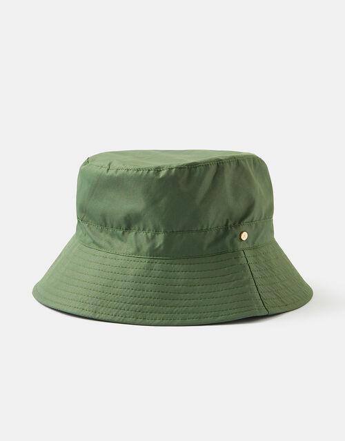 Rainproof Bucket Hat, Green (KHAKI), large