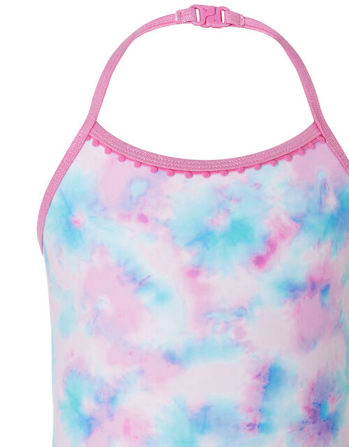 Tie Dye Swimsuit, Pink (PINK), large