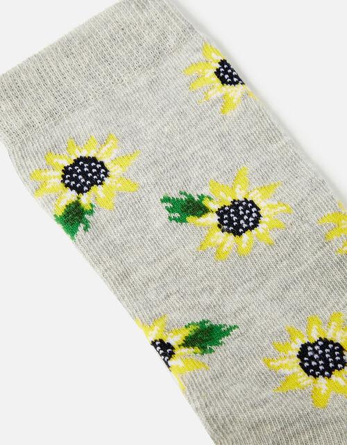Sunflower Ankle Socks, , large