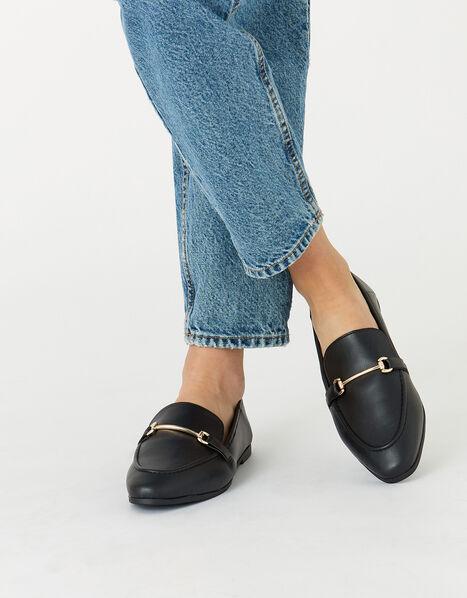 Tapered Loafers  Black, Black (BLACK), large