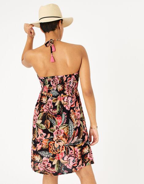 Floral Print Bandeau Dress Multi, Multi (BRIGHTS-MULTI), large