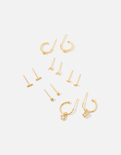 Hoop and Stud Earring Multipack, , large
