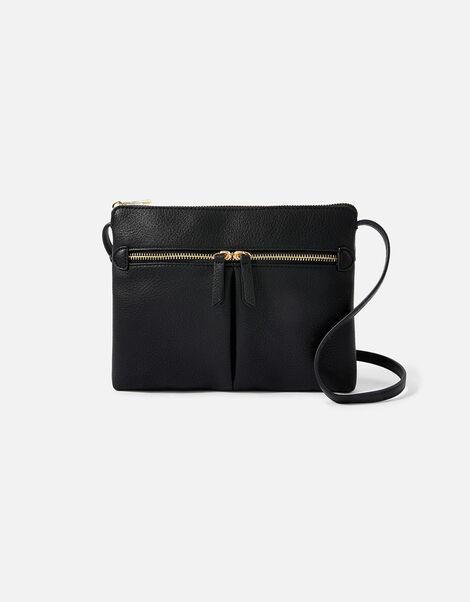 Ella Cross-Body Bag  Black, Black (BLACK), large