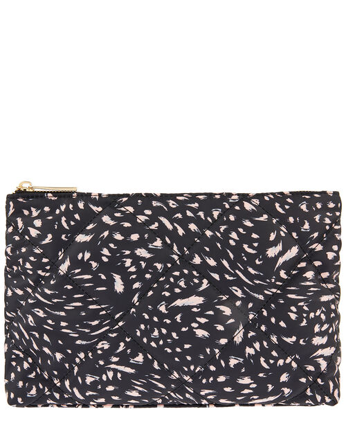 Printed Wash Bag in Recycled Fabric, , large