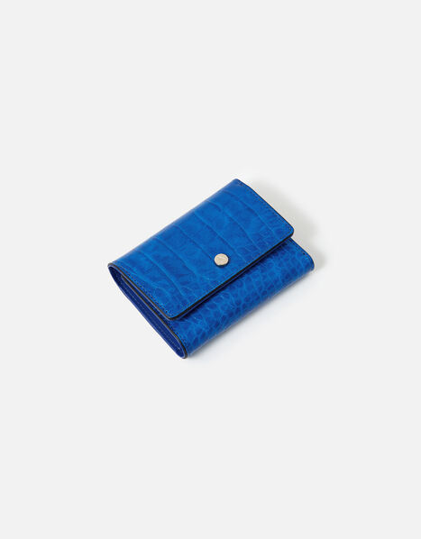 Stella Croc Purse  Blue, Blue (BLUE), large