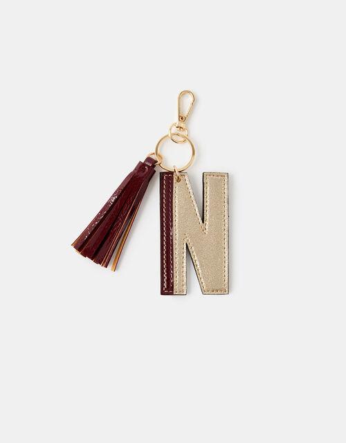 Letter Keyring - N, , large
