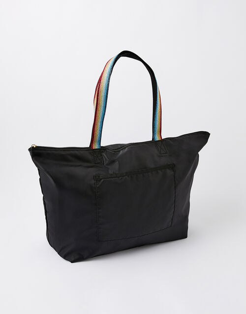 Packable Shopper Bag in Recycled Polyester, , large