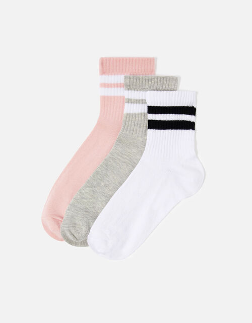 Varsity Sock Multipack, , large