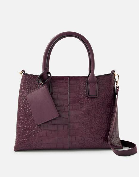 Caroline Handheld Bag Red, Red (BURGUNDY), large