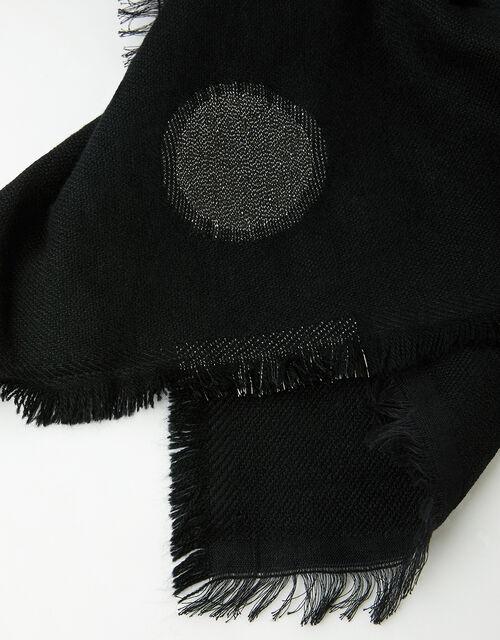 Polka-Dot Blanket Scarf, , large
