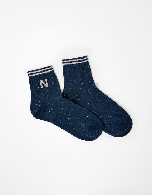 Initial Ankle Socks - N, , large