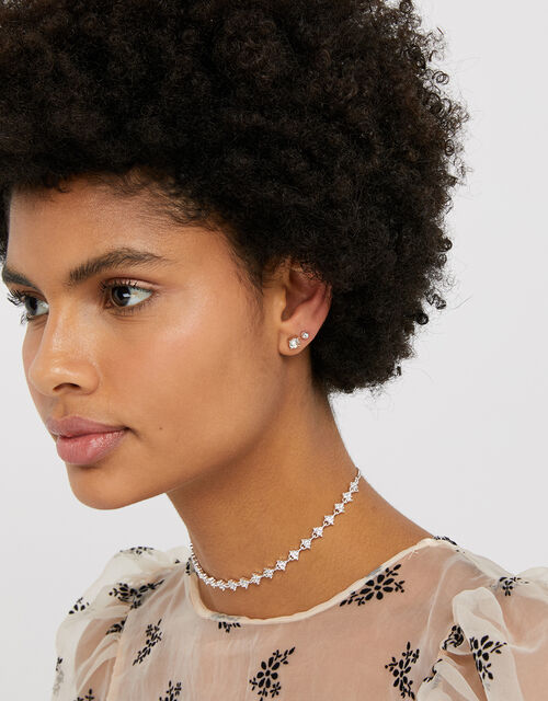 Sparkle Shape Stud Earring Multipack, , large