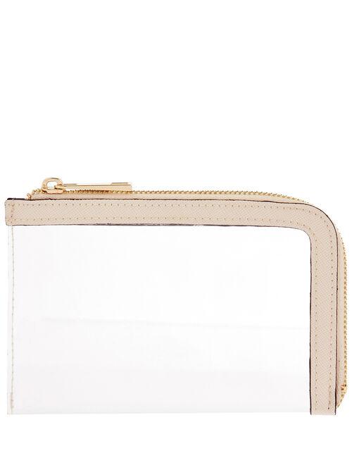 Card Holder with Slip Bag, Cream (CREAM), large