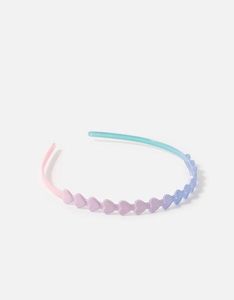 Rainbow Heart Headband , , large
