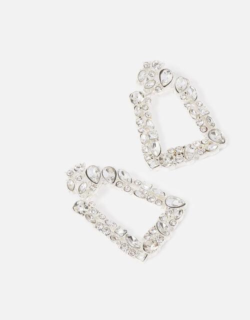 New Decadence Crystal Doorknocker Earrings, , large