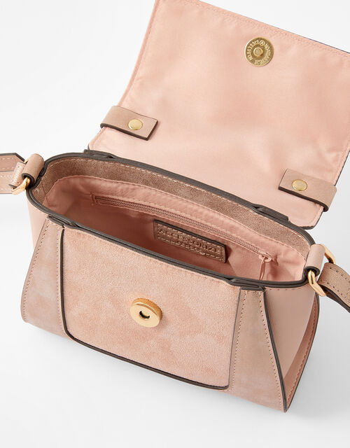 Ellie Top Handle Bag, Pink (PINK), large