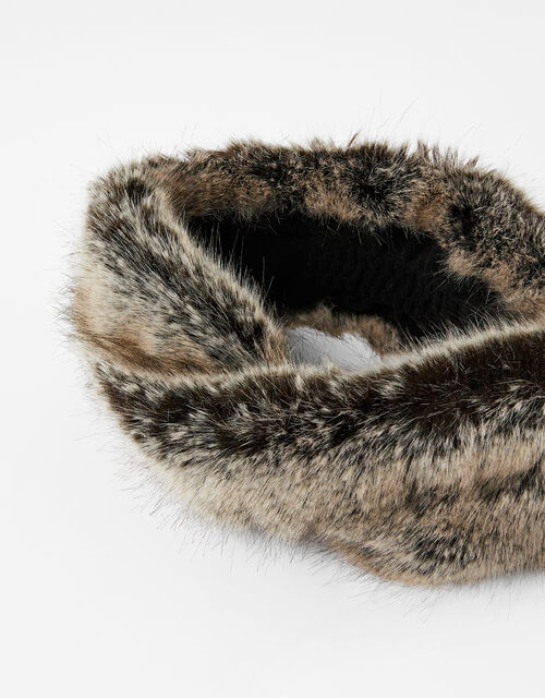 Luxe Faux Fur Bando, , large