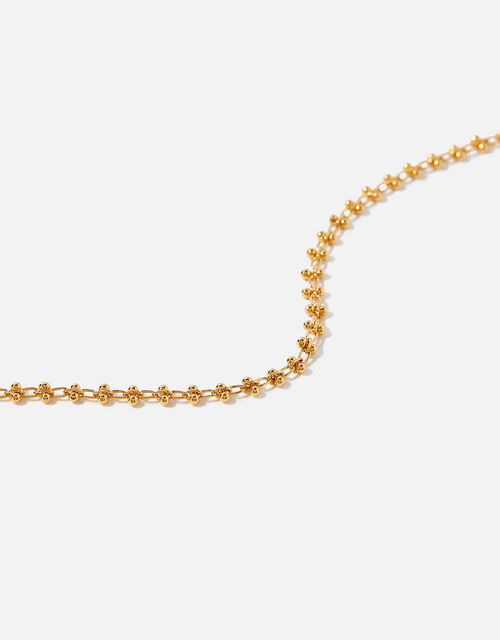 Gold-Plated Bobble Chain Bracelet, , large