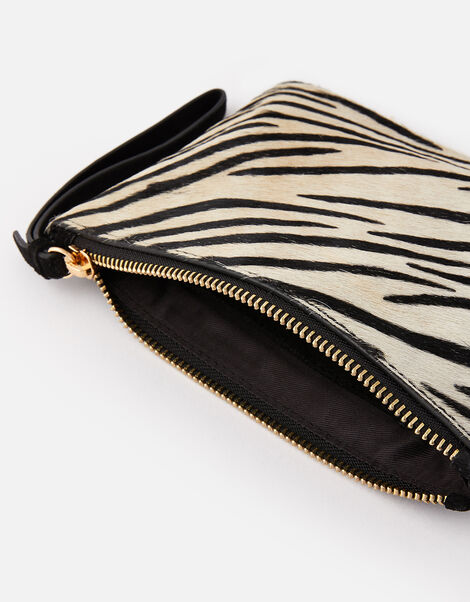 Zebra Leather Pouch , , large