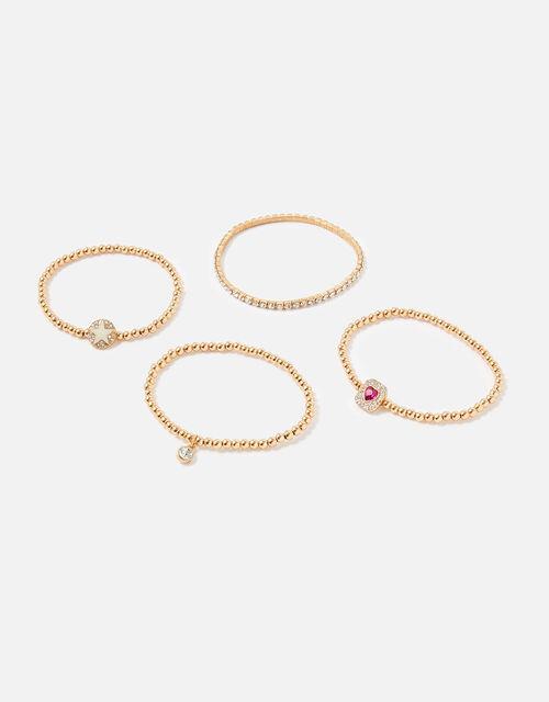 New Decadence Stretch Pave Bracelets, , large