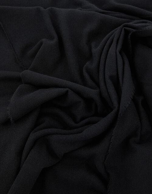 Wells Blanket Scarf Black, , large