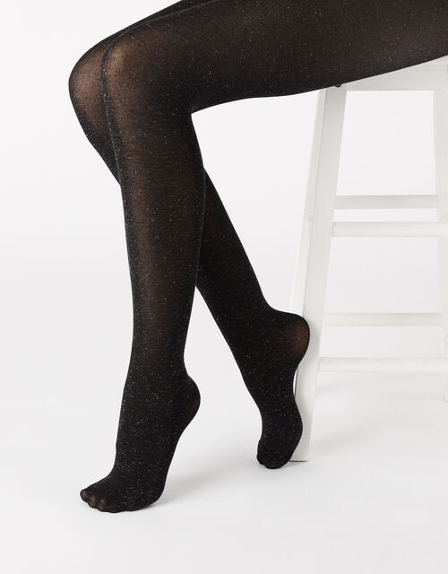 Sparkle Knit Tights, , large