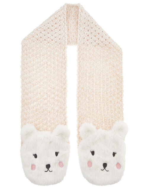 Polar Bear Knit Scarf, , large