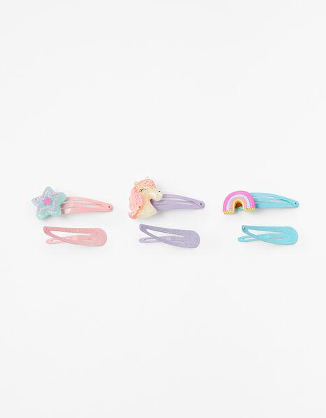 Unicorn Hair Clip Multipack, , large
