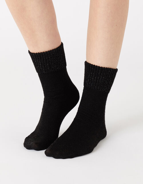 Sparkle Boot Socks with Merino Wool, , large