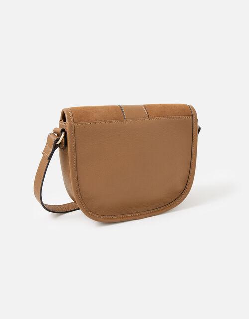Beccy Leather Saddle Bag , , large