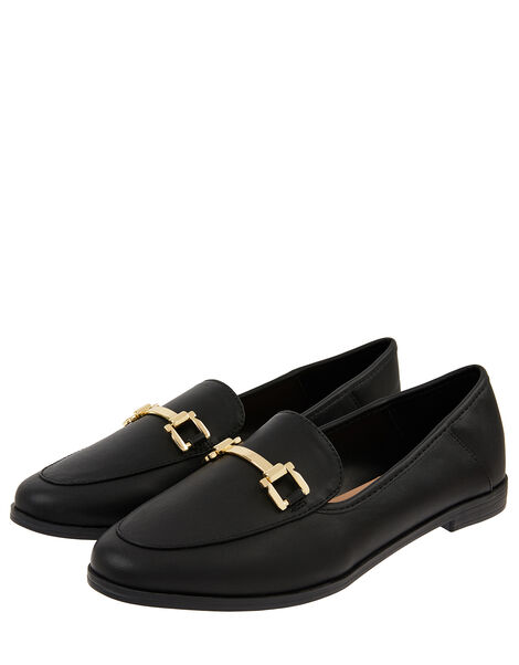 Classic Loafers Black, Black (BLACK), large