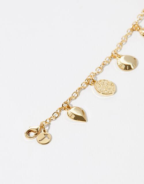 Gold-Plated Charm Bracelet, , large