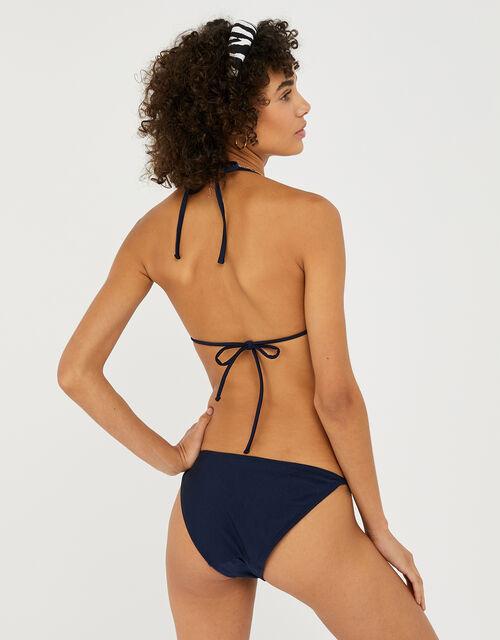 Triangle Bikini Top, Blue (NAVY), large