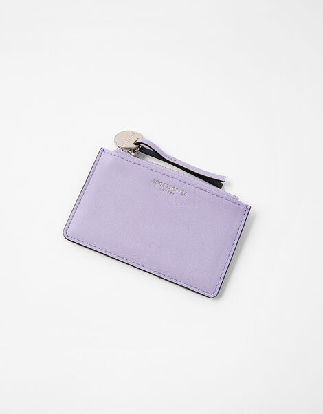 Cora Card Holder  Purple, Purple (LILAC), large
