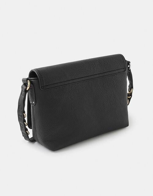 Ava Shoulder Bag, Black (BLACK), large
