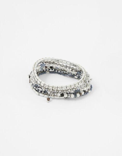 Niki Beaded Stretch Bracelet Multipack, , large