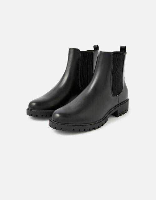 Chelsea Ankle Boots, Black (BLACK), large