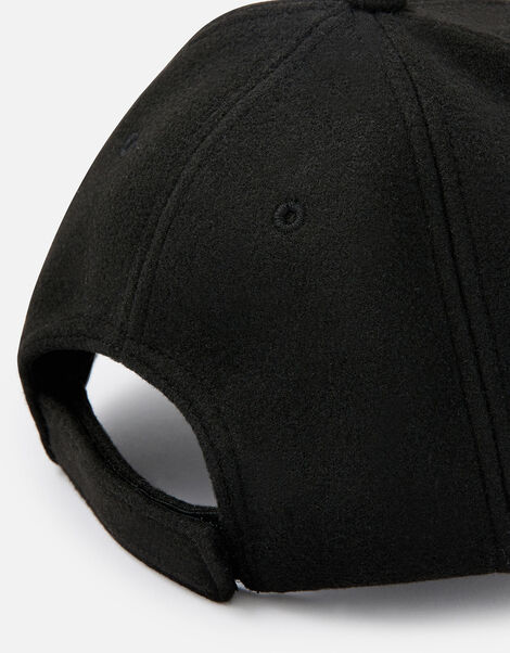 Super-Soft Marl Baseball Cap Black, Black (BLACK), large