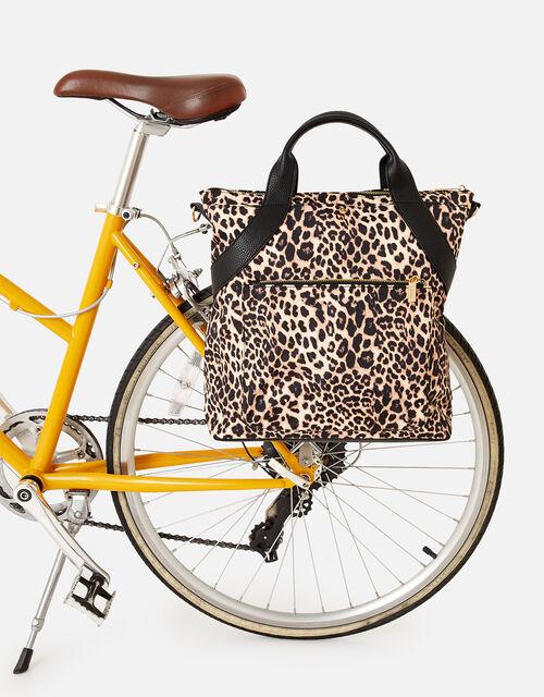 Leopard Bike Bag Pannier , , large