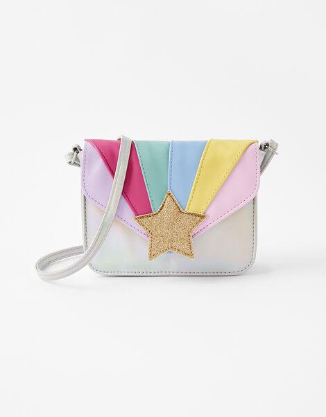 Rainbow Star Cross-Body Bag, , large