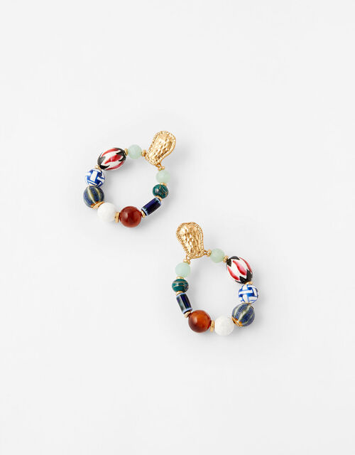 Cassie Ceramic Bead Statement Earring , , large