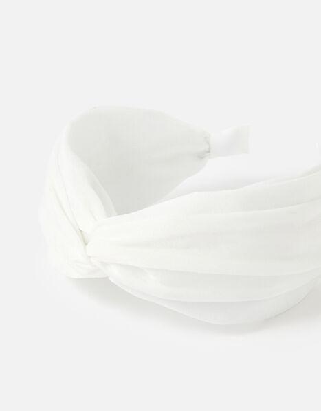BRIDAL Wide Knot Headband , , large