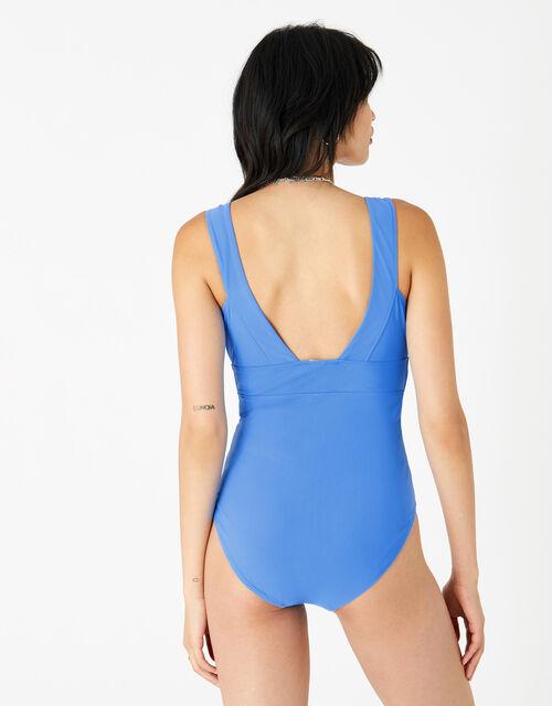 Lexi Plunge Shaping Swimsuit, Blue (LIGHT BLUE), large