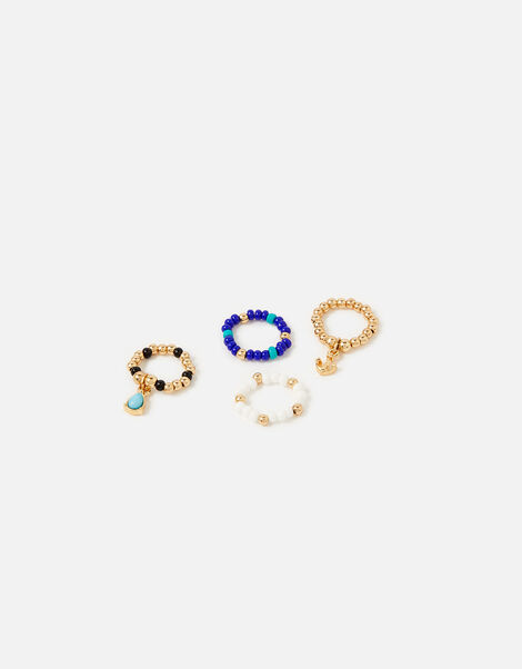 St Ives Charmy Stretch Ring Set Blue, Blue (BLUE), large
