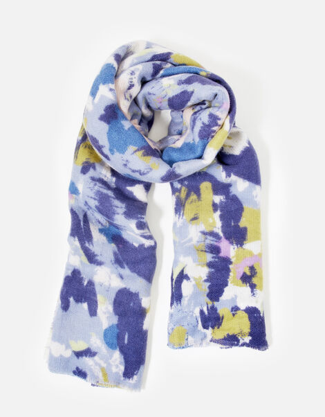 Brushed Meadow Blanket Scarf, , large