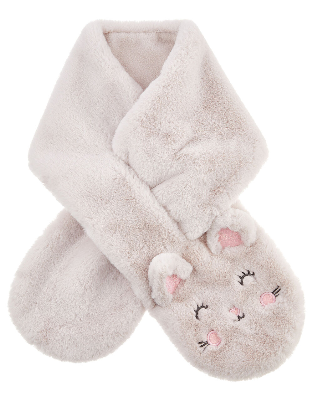 Fluffy Cat Scarf, , large
